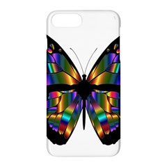 Abstract Animal Art Butterfly Apple Iphone 8 Plus Hardshell Case