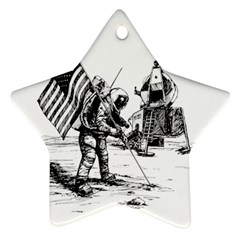 Apollo Moon Landing Nasa Usa Ornament (star)