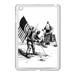 Apollo Moon Landing Nasa Usa Apple Ipad Mini Case (white)