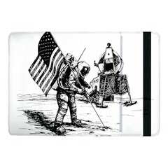 Apollo Moon Landing Nasa Usa Samsung Galaxy Tab Pro 10 1  Flip Case by Samandel