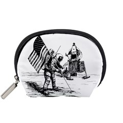 Apollo Moon Landing Nasa Usa Accessory Pouch (small)