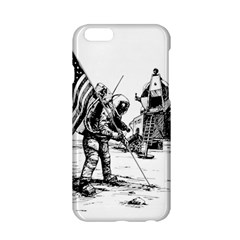Apollo Moon Landing Nasa Usa Apple Iphone 6/6s Hardshell Case by Samandel