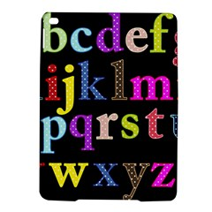Alphabet Letters Colorful Polka Dots Letters In Lower Case Ipad Air 2 Hardshell Cases