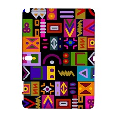 Abstract A Colorful Modern Illustration Samsung Galaxy Note 10 1 (p600) Hardshell Case