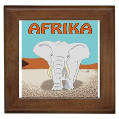 Africa Elephant Animals Animal Framed Tiles