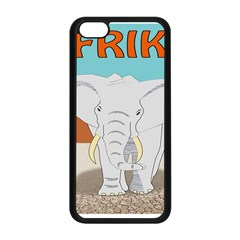 Africa Elephant Animals Animal Apple Iphone 5c Seamless Case (black)