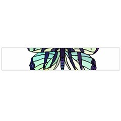 A Colorful Butterfly Large Flano Scarf  by Samandel