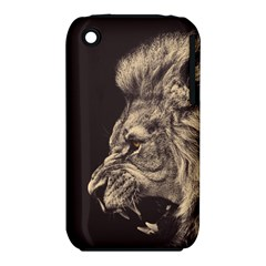 Angry Male Lion Iphone 3s/3gs