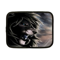 Angry Lion Digital Art Hd Netbook Case (small)