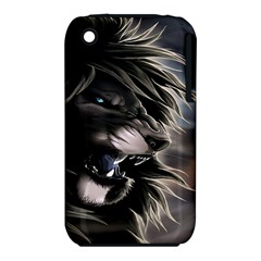 Angry Lion Digital Art Hd Iphone 3s/3gs by Samandel