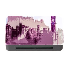 Abstract Painting Edinburgh Capital Of Scotland Memory Card Reader With Cf