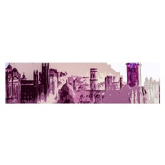 Abstract Painting Edinburgh Capital Of Scotland Satin Scarf (oblong)