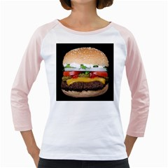 Abstract Barbeque Bbq Beauty Beef Girly Raglan