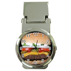 Abstract Barbeque Bbq Beauty Beef Money Clip Watches