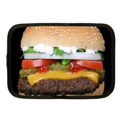 Abstract Barbeque Bbq Beauty Beef Netbook Case (medium) by Samandel