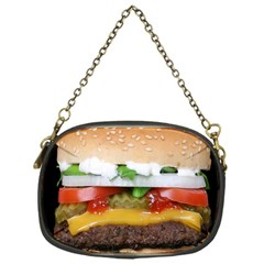 Abstract Barbeque Bbq Beauty Beef Chain Purse (one Side)