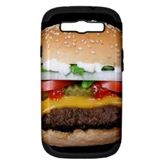 Abstract Barbeque Bbq Beauty Beef Samsung Galaxy S Iii Hardshell Case (pc+silicone) by Samandel