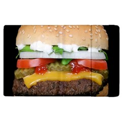 Abstract Barbeque Bbq Beauty Beef Apple Ipad 2 Flip Case by Samandel