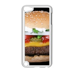 Abstract Barbeque Bbq Beauty Beef Apple Ipod Touch 5 Case (white)