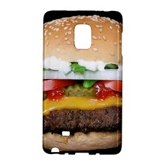 Abstract Barbeque Bbq Beauty Beef Samsung Galaxy Note Edge Hardshell Case by Samandel