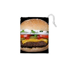 Abstract Barbeque Bbq Beauty Beef Drawstring Pouch (xs)