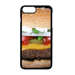 Abstract Barbeque Bbq Beauty Beef Apple Iphone 8 Plus Seamless Case (black)