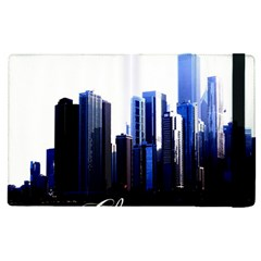 Abstract Of Downtown Chicago Effects Apple Ipad Pro 12 9   Flip Case by Samandel
