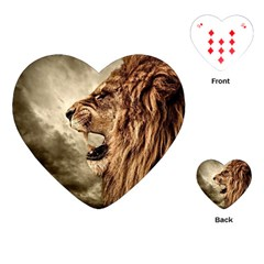 Roaring Lion Playing Cards (heart)