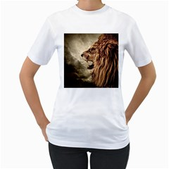 Roaring Lion Women s T Shirt (white)