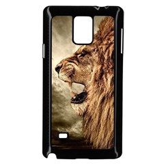 Roaring Lion Samsung Galaxy Note 4 Case (black)