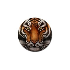 The Tiger Face Golf Ball Marker