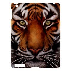 The Tiger Face Apple Ipad 3/4 Hardshell Case by Samandel