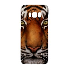 The Tiger Face Samsung Galaxy S8 Hardshell Case