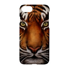 The Tiger Face Apple Iphone 8 Hardshell Case