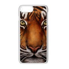 The Tiger Face Apple Iphone 8 Plus Seamless Case (white)