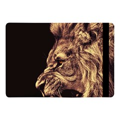 Angry Male Lion Gold Apple Ipad 9 7