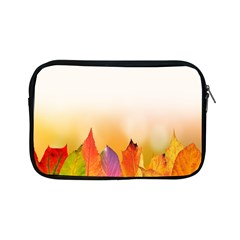 Autumn Leaves Colorful Fall Foliage Apple Ipad Mini Zipper Cases by Samandel