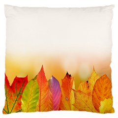 Autumn Leaves Colorful Fall Foliage Standard Flano Cushion Case (one Side) by Samandel