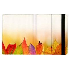 Autumn Leaves Colorful Fall Foliage Apple Ipad Pro 9 7   Flip Case