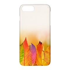 Autumn Leaves Colorful Fall Foliage Apple Iphone 7 Plus Hardshell Case by Samandel