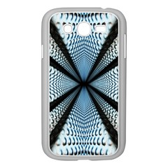 6th Dimension Metal Abstract Obtained Through Mirroring Samsung Galaxy Grand Duos I9082 Case (white)
