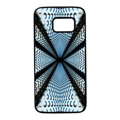 6th Dimension Metal Abstract Obtained Through Mirroring Samsung Galaxy S7 Black Seamless Case