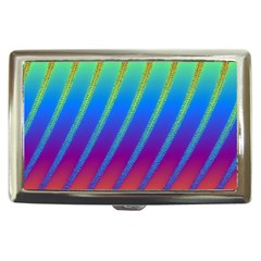 Abstract Fractal Multicolored Background Cigarette Money Case