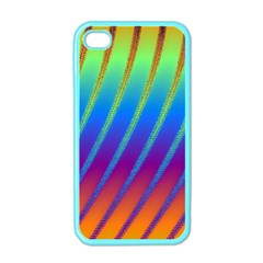 Abstract Fractal Multicolored Background Apple Iphone 4 Case (color)