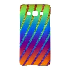 Abstract Fractal Multicolored Background Samsung Galaxy A5 Hardshell Case
