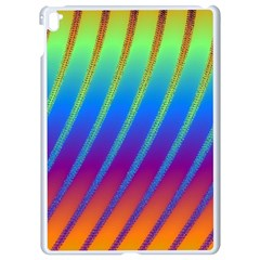 Abstract Fractal Multicolored Background Apple Ipad Pro 9 7   White Seamless Case