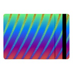 Abstract Fractal Multicolored Background Apple Ipad Pro 10 5   Flip Case