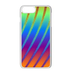 Abstract Fractal Multicolored Background Apple Iphone 8 Plus Seamless Case (white)
