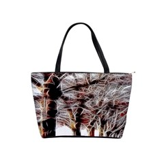 Autumn Fractal Forest Background Classic Shoulder Handbag