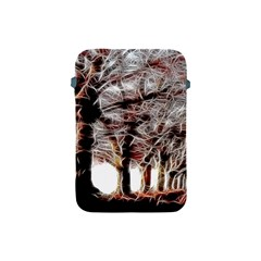 Autumn Fractal Forest Background Apple Ipad Mini Protective Soft Cases by Samandel